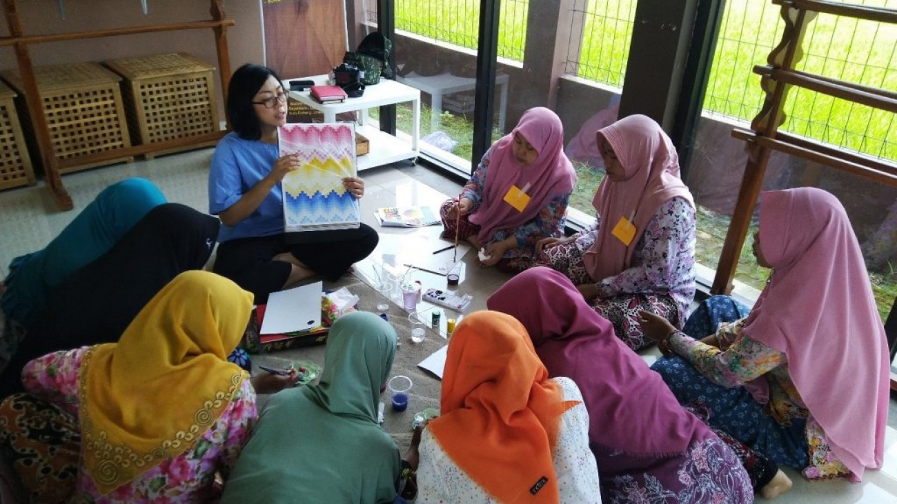 Belajar bersama Batik Samadaya