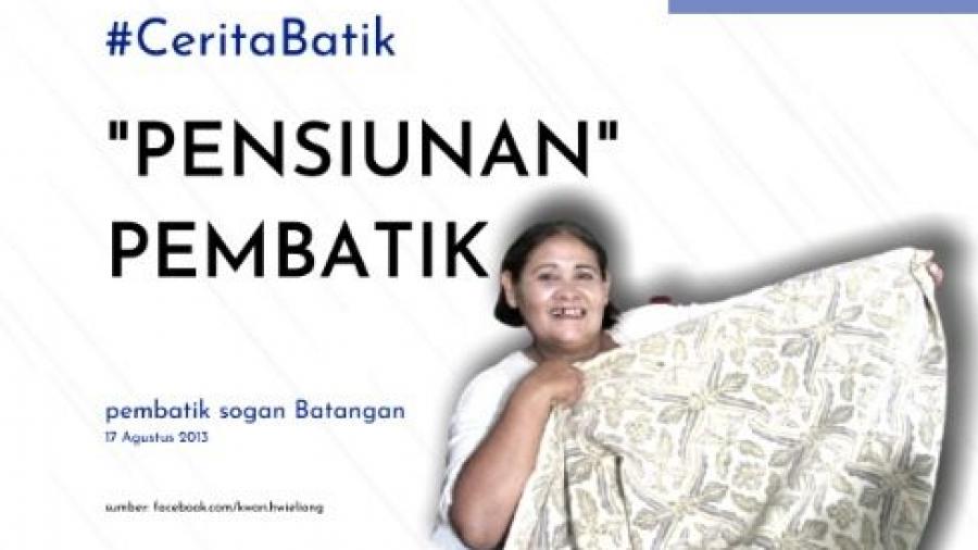 #CeritaBatik dari Pembatik Sogan Batangan